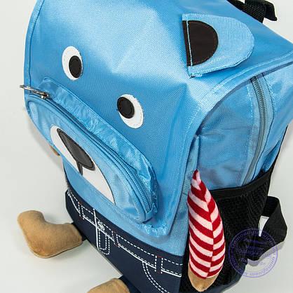 Детский рюкзак для мальчика и девочки - голубой - 138, фото 3