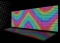 LED Бегущая строка уличная  135*40см. цветные диоды и возможность управления через WI-FI