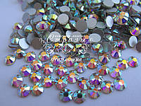 Стразы клеевые ss20 Crystal AB ЭКОНОМ (5,0мм) 1440шт silver foil