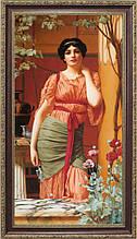 Репродукция картины Джона Уильяма Годварда (Великобритания) «Римская матрона» 60 х 110 см