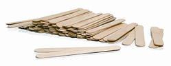 Шпатель деревянный для нанесения воска 50 шт/уп 140*14 мм
