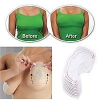 Прозрачная пленка-пластырь для мгновенной подтяжки груди, 5 пар