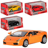 "Машина метал. ""Kinsmart"" ""Lamborghini Gallardo"" в кор. 16*8,5*7,5см (96шт/4)(KT5098W)"