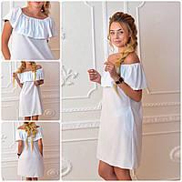 Платье 786 белый, фото 1