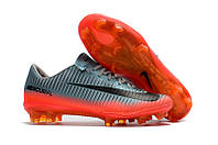Мужские бутсы Mercurial Vapor XI CR7 FG grey/orange
