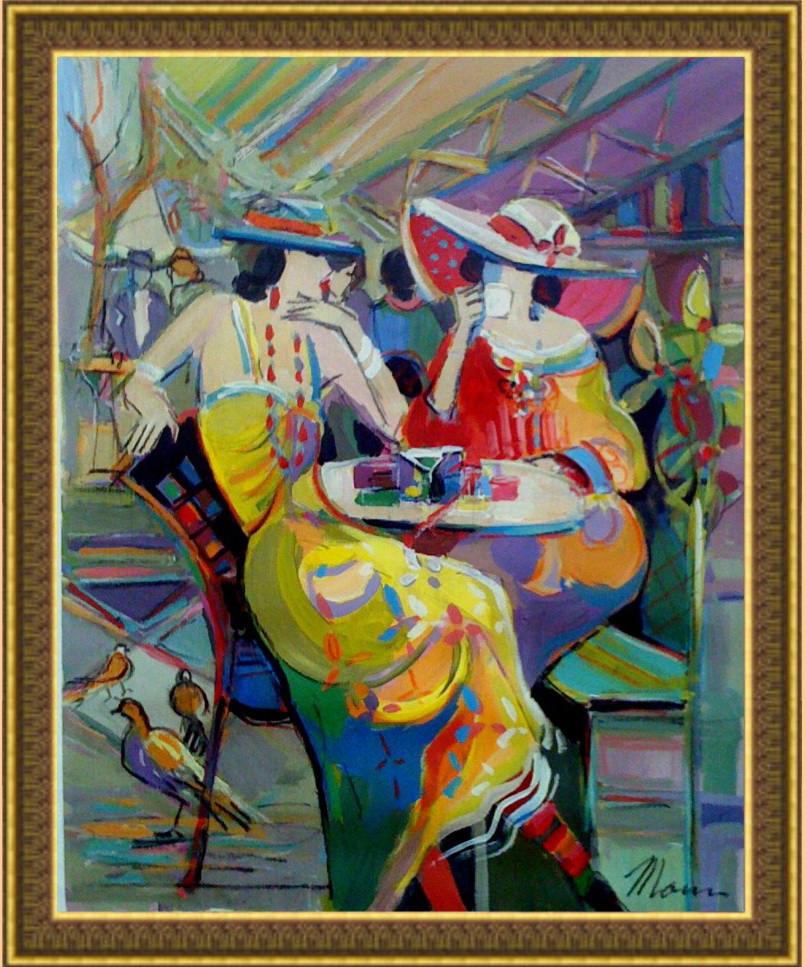 Репродукція сучасної картини «Спокуса» 60 х 75 см