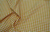 Декоративная ткань Ibiza клетка (желтый)