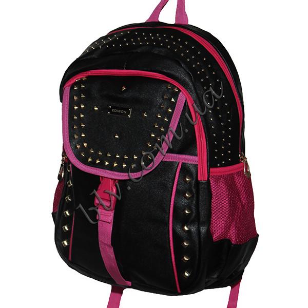 7b0cea562d58 Рюкзак школьный для девочек подростков 1176-1 оптом и в розницу ...