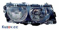 Фара BMW 7 E38 94-02 правая электрич черн. рассеиватель (FPS)