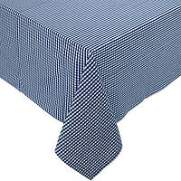 Декоративная ткань Ibiza клетка (синий)