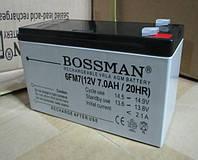 Аккумулятор 12V 7Ah Bossman  6FM7 - LA1270