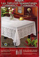 Скатерть виниловая кружевная, фото 1