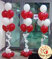 №14 Стойки из гелиевых шаров Днепр, фото 1