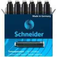 Патрон чорнильний до перової ручки Schneider, чорний