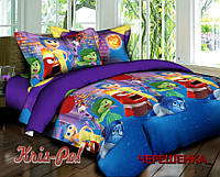 Полуторный набор постельного белья 150*220 из Ранфорса Головоломка №18635 KRISPOL™
