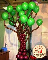 №28 Дерево из воздушных шаров Днепр