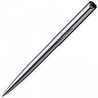 Шариковая ручка Parker Vector Stainless Steel BP металлическая с хромированной отделкой деталей 03 232