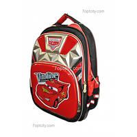 Рюкзак школьный ( спиннер в подарок) для мальчика Тачки G1608-0612b