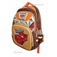 Рюкзак школьный ( спиннер в подарок) для мальчика Тачки G1608-0612c