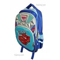 Рюкзак школьный ( спиннер в подарок) для мальчика Тачки G1608-0612d