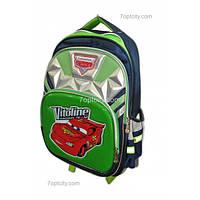 Рюкзак школьный ( спиннер в подарок) для мальчика Тачки G1608-0612e