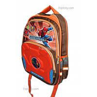 Рюкзак школьный ( спиннер в подарок) для мальчика Человек - Паук G1608-0611d
