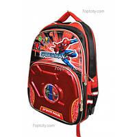 Рюкзак школьный ( спиннер в подарок) для мальчика Человек - Паук G1608-0611a