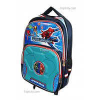 Рюкзак школьный ( спиннер в подарок) для мальчика Человек - Паук G1608-0611b