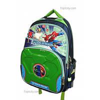 Рюкзак школьный ( спиннер в подарок) для мальчика Человек - Паук G1608-0611с