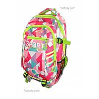 Рюкзак школьный ( спиннер в подарок) , спортивный для девочки G1608-8169d