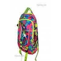 Рюкзак школьный ( спиннер в подарок) , спортивный для девочки G1608-8209c