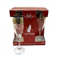 Набор бокалов для шампанского  Версаче 08-419 6 шт