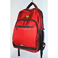 Рюкзак школьный ( спиннер в подарок) для мальчика Ferrari G1608-9163d
