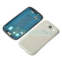 Корпус для Samsung i9300 Galaxy S3 (White) Качество