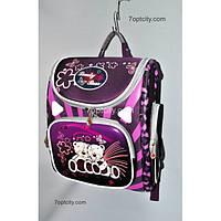 Рюкзак школьный ( спиннер в подарок) для девочки Трансформер Bear G1608-A2a
