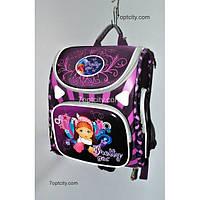 Рюкзак школьный ( спиннер в подарок) для девочки Трансформер Pretty girl G1608-A2b