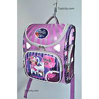 Рюкзак школьный ( спиннер в подарок) для девочки Трансформер Beauty Cat G1608-A1b