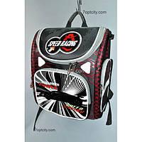 Рюкзак школьный ( спиннер в подарок) для мальчика Трансформер Speed Racing G1608-A6b