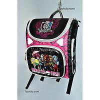 Рюкзак школьный ( спиннер в подарок) Трансформер Monster High G1608-A5a