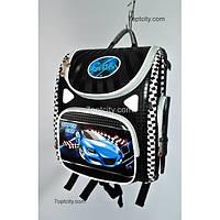 Рюкзак школьный ( спиннер в подарок) для мальчика Трансформер Cars G1608-A9b
