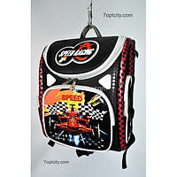 Рюкзак школьный ( спиннер в подарок) для мальчика Трансформер Speed G1608-A9c