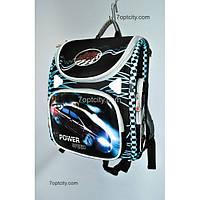 Рюкзак школьный ( спиннер в подарок) для мальчика Трансформер Power Speed G1608-A9d