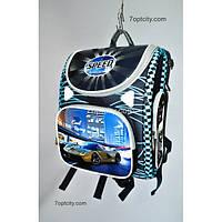 Рюкзак школьный ( спиннер в подарок) для мальчика Трансформер Speed G1608-A10b