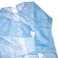 Халаты смотровые хирургические, с завязками сзади, не стерильные (10шт/уп) Medicom