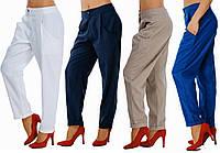 Женские штаны - хулиганы с карманами. 4 цвета. Р-ры от 42-го до 54-го.