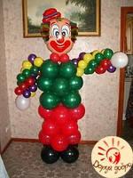 №9 Клоун из шаров 1.8м Днепр