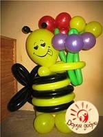 №12 Пчела из шаров 1м Днепр, фото 1