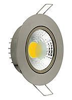Светодиодный светильник Downlights LED LILYA-5-6К MAT CHROME, фото 1
