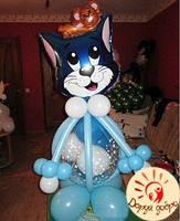 №22 Кот Том из воздушных шаров 1.1м Днепр