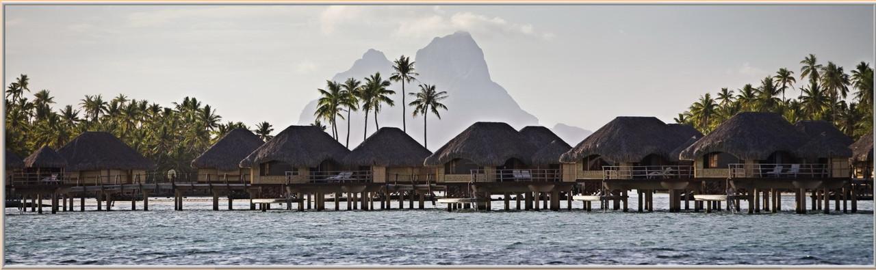 Фотокартина «Панорама Полинезии» 60 х 200см